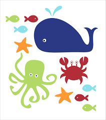 popular items for something fishy on etsy fish whale and crab