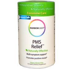 rainbow light multivitamin side effects rainbow light pms relief 30 tablets iherb com