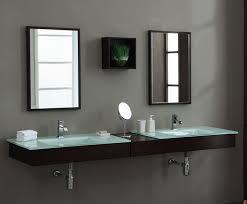 Xylem Vanities Modern Blox 74 Inch Floating Bathroom Vanity Set Solid Poplar