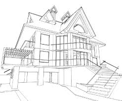 architecture house drawing akioz com