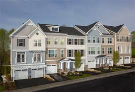 townhome designs basheer edgemoore s potomac crest hits market sweet spot with