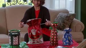 kringle express 64 ez drawstring gift bag set page 1 qvc
