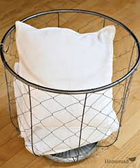 Laundry Room Decorating Accessories by Homeroad Rolling Laundry Basket