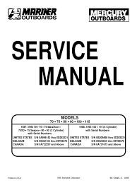 outboard manual 70 75 80 90 100 115 ignition system internal