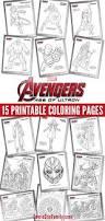 free kids printables marvel u0027s avengers age ultron