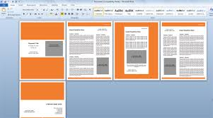 microsoft word powerpoint templates modern proposal template for