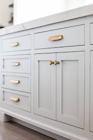 Shaker White Kitchen Cabinets by Top Hardware Styles To Pair With Your Shaker Cabinets