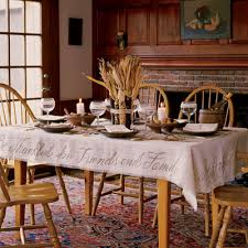 dining room table cloth 6 easy thanksgiving diys