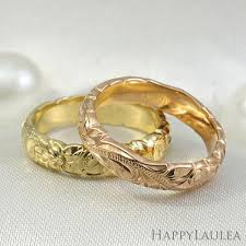 gold hand rings images 14k gold hand engraved wave edge ring with hawaiian old english design jpg