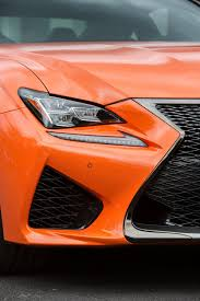 rcf lexus orange 2017 lexus rc f gains standard adaptive suspension
