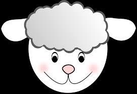 clipart sheep nice