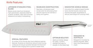 furi kitchen knives amazon com furi knives 9 blade 23cm japanese stainless steel