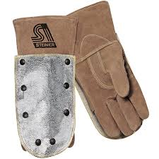 Split Cowhide Premium Side Split Cowhide Stick Welding Gloves Thermocore