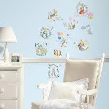 peter rabbit wall stickers jojo maman bebe