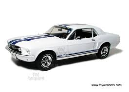 Black 67 Mustang Coupe 1967 Ford Mustang Coupe Hard Top By Greenlight 1 18 Scale Diecast