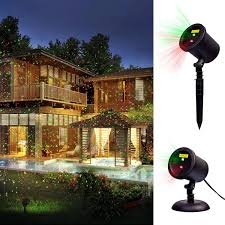 Outdoor Christmas Lights Amazon by Amazon Com Decolighting Star Laser Christmas Light Show Outdoor