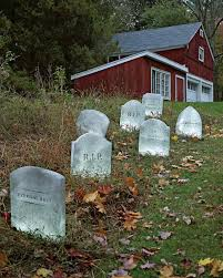 how to make fake tombstones for halloween easy diy halloween yard decorations