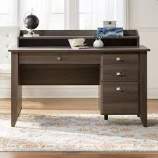 andover mills revere computer desk with hutch u0026 reviews wayfair