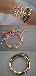 diy simple bracelet images 40 diy bracelet ideas and tutorials jpg