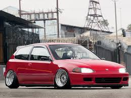 slammed honda crx honda 1988 honda crx si 19s 20s car and autos all makes all