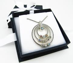 grandmother s necklace great grandmothers birthstone necklace aftcra