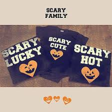 family matching shirts baby scary shirt an