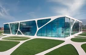 architektur wiesbaden glass cube in bad driburg glas gewerbe industrie baunetz wissen