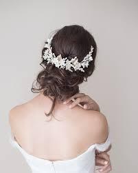 bridal headpiece bridal headpiece tocado de novia lena rom