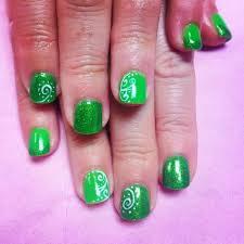 25 fun u0026 flattering green nail design ideas