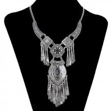 long silver fashion necklace images Necklace fashion jewelry jewelry jpg