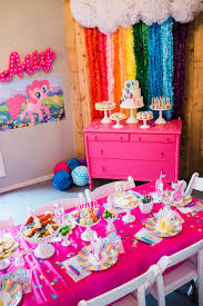 how to host a my little pony party ally turns 9 jenny cookies