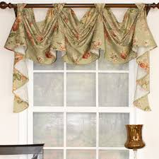 Rooster Swag Curtains by Floral Essence 3 Scoop Victory Swag Curtain Valance Products