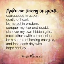 quotes about being happy on my own unknown author make me strong in spirit how self help
