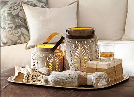 coffee table decorations how to decorate a coffee table pottery barn