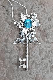 gem key necklace images 77 best blue key necklaces images key necklace jpg