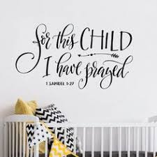 Scripture Wall Decals For Nursery Christian Wall Decal Wall Decals Bible Verse Decals Wall Quote