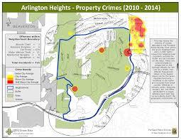 Crime Map Portland by Vygogo Arlington Tx Crime Map