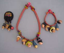 colored necklace cords images Morning glory antiques jpg