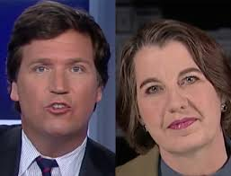 is tucker carlson s hair real tucker carlson schools planned parenthood vp in the art of plain
