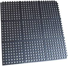 Commercial Kitchen Floor Mats by 4 Pack Interlocking Rubber Floor Mats 3 Ft Square Commercial