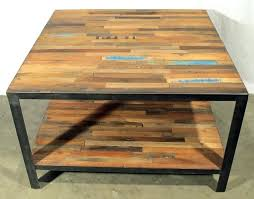 reclaimed wood square coffee table wood square coffee table yuinoukin com