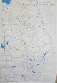 Missoula Montana Map by Adventures Of A Math Geek Hal Kanzler U0027s Mission Mountains Map