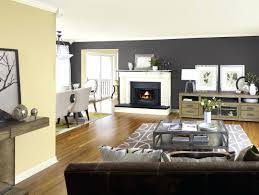 sitting room painting ideas with two colors paint for living tone