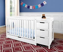 Delta Eclipse 4 In 1 Convertible Crib by White Crib And Changing Table Combo Bundle U2014 Thebangups Table