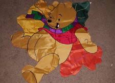 disney winnie pooh christmas indoor outdoor nylon flag 40