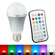 color changing light bulb with remote coidak e26 rgb w led color changing light bulb with 2 4g rf wireless