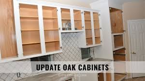 update oak kitchen cabinets how to update oak cabinets 5 ways to refinish cabinets