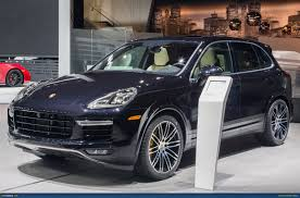 Porsche Cayenne Accessories - ausmotive com detroit 2015 porsche cayenne turbo s