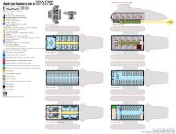 Star Trek Enterprise Floor Plans by Star Trek Deckplan Federation