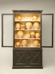 Book Cabinet With Doors by Directoire Style Painted Bookcase With Chicken Wire Doors For Sale